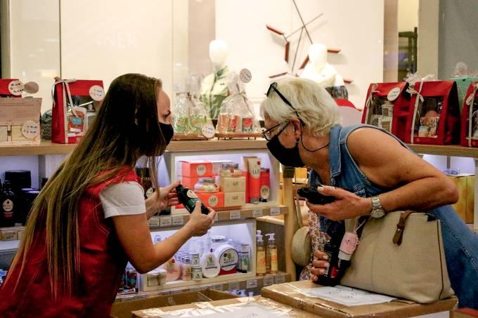 Reabertura dos Shoppings Centers na cidade de Santos/SP