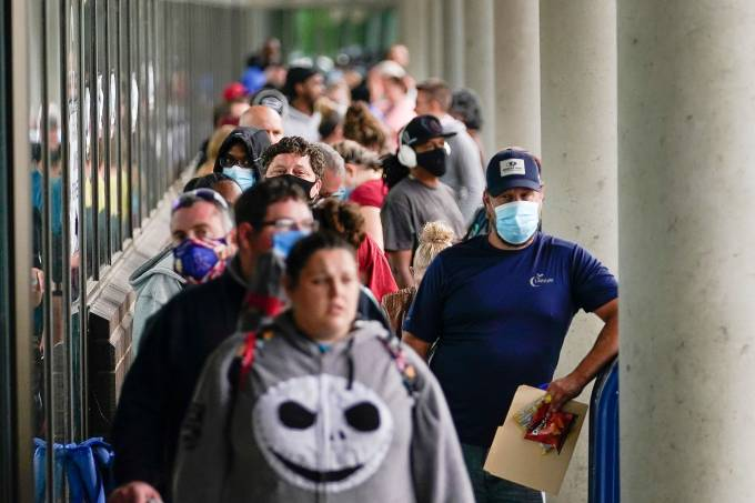 Desemprego Estados Unidos EUA Coronavírus