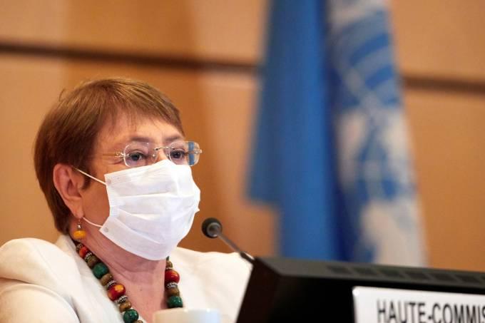 Alta comissária de direitos humanos da ONU, Michelle Bachelet
