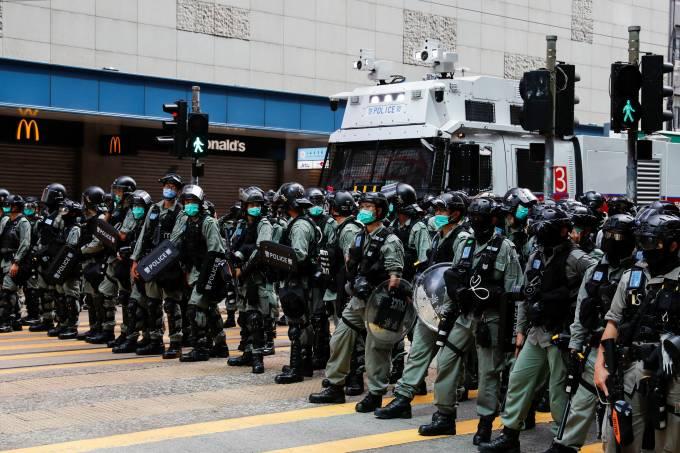 Hong Kong Protestos Lei de Segurança Nacional China