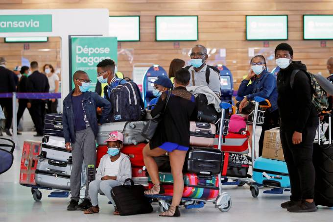 FILE PHOTO: Paris Orly Airport resumes duty after a 3-month break due the coronavirus lockdown