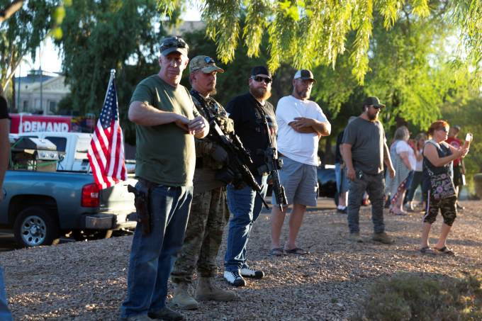 Estados Unidos Armas Black Lives Matter Protesto Coronavírus