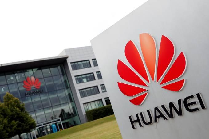 Edifício da Huawei em Reading, no Reino Unido