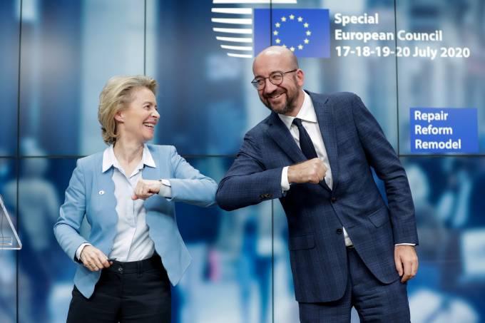 Cúpula de líderes da UE em Bruxelas