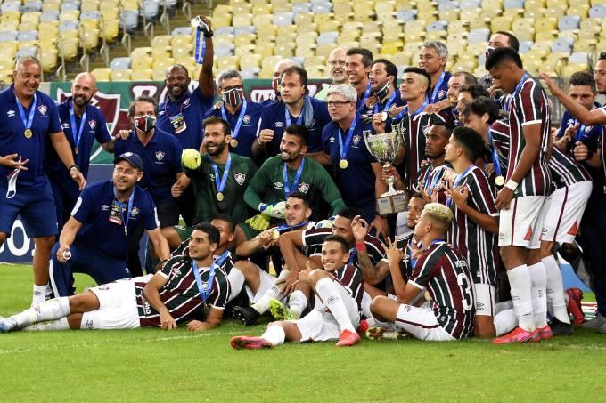 Fluminense x Flamengo 08/07/2020