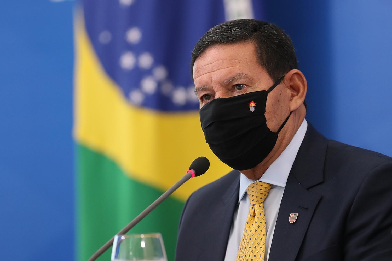 Mourão fala em lançamento de fórum internacional sobre a Amazônia