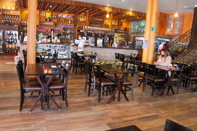 Reabertura de bares e restaurantes