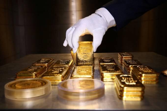Barras de ouro 1