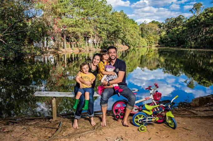 Bruno e famíliaCredito: Lailson Santos