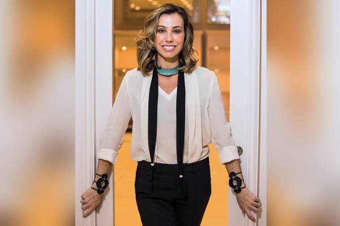 Empresária e designer de joias Camila Klein.