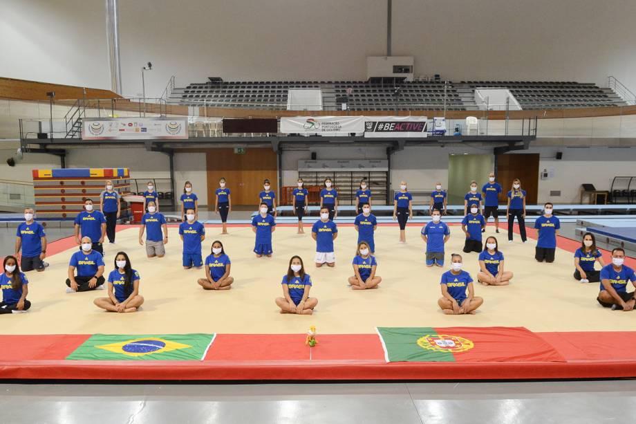 Atletas brasileiros treinam em Portugal durante a pandemia de coronavírus