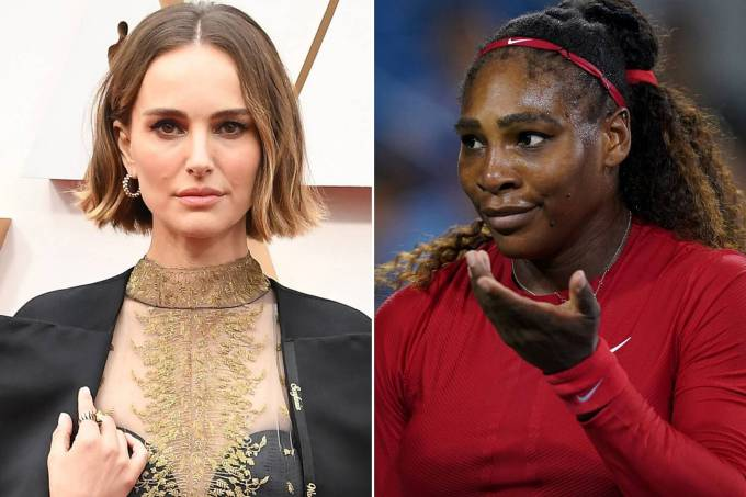 Natalie Portman e Serena Williams