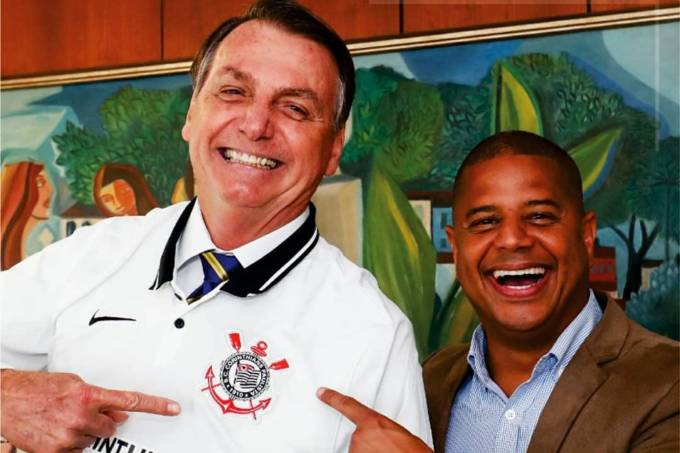 Bolsonaro e Marcelinho