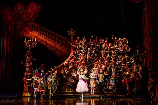 Cena de 'O Fantasma da Opera'