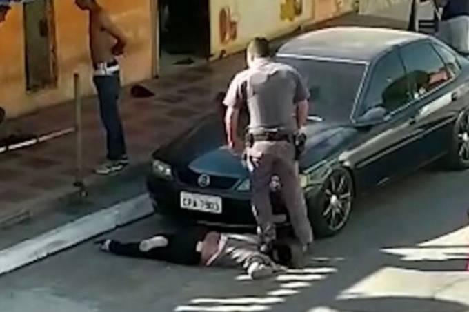 Ação policial em Parelheiros (SP)