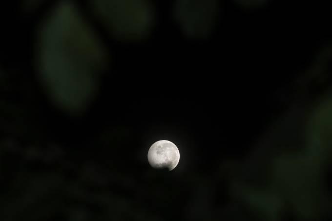 Penumbral Lunar Eclipse In Lhokseumawe