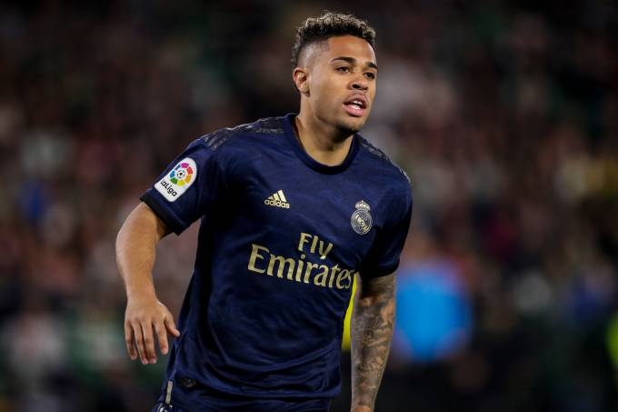 Mariano Díaz, atacante do Real Madrid