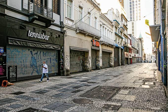 Empty Streets Around Brazil Due to the Coronavirus (COVID – 19) Pandemic