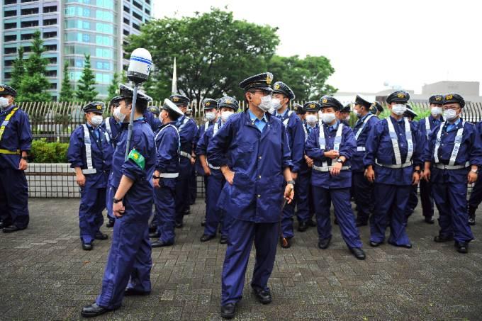 Policiais japoneses – Polícia do Japão