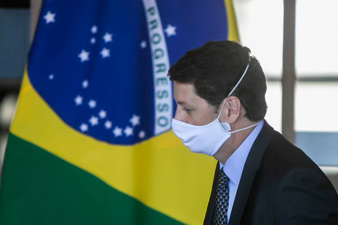 Brazil Vice-President Hamilton Mourao and the Legal Amazon National Council State Ministers Hold a Press Conference Amidst the Coronavirus (COVID-19) Pandemic