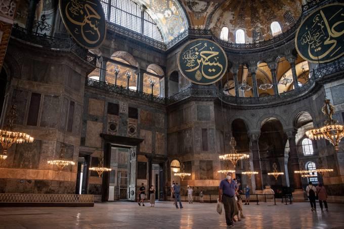 Debate Continues Over Turkey's Hagia Sophia Status