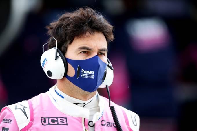 Sergio Pérez, piloto mexicano da Racing Point