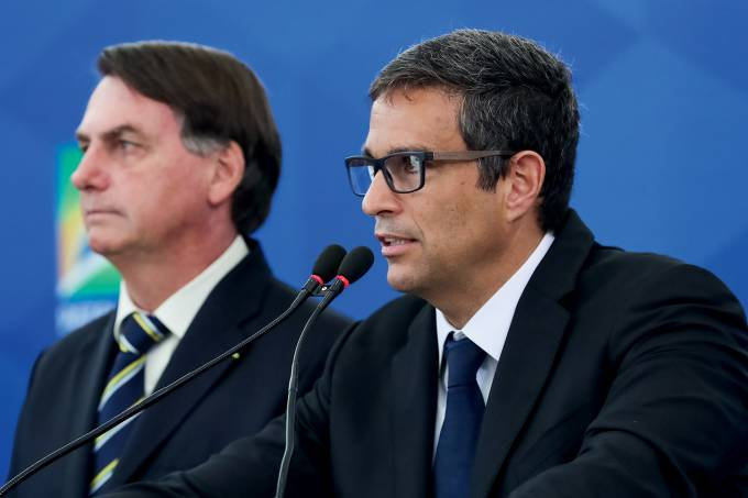 27/03/2020 Coletiva de imprensa com o Presidente da República J