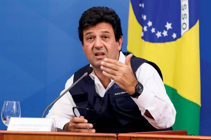 14/04/2020 Coletiva de Imprensa com os Ministros no Palácio do