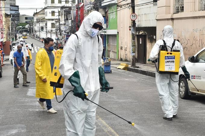 "Pandemia atingiu ""platô"" no Brasil, afirma OMS"