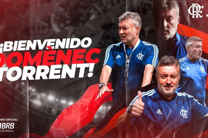 Flamengo confirma a contratação de Doménec Torrent