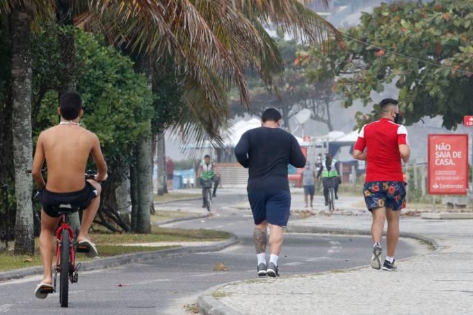 Reabertura das áreas de lazer no Rio de Janeiro