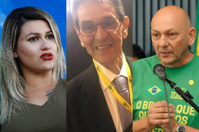 Sara Winter, Roberto Jefferson e Luciano Hang: contas suspensas