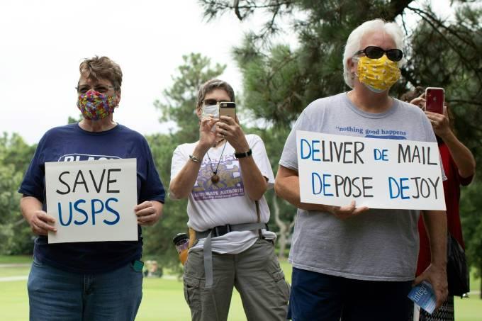 US-USPS-PROTEST-ELECTION