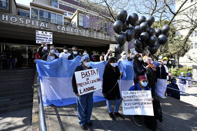 ARGENTINA-HEALTH-VIRUS-PROTEST