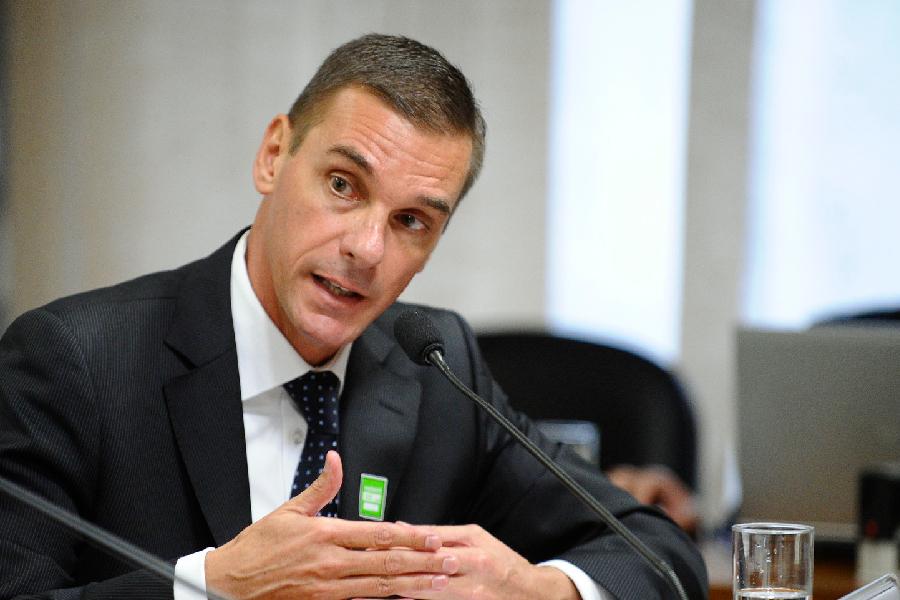 O presidente do HSBC Brasil, André Guilherme Brandão (05/05/2015)