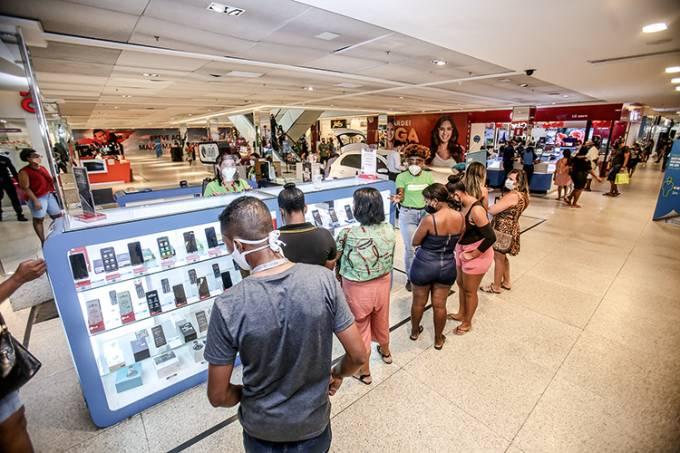 Reabertura dos Shoppings em Salvador