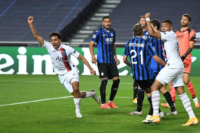 Champions League – Quarter Final – Atalanta v Paris St Germain