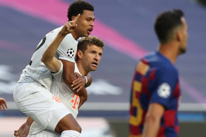 Champions League – Quarter Final – FC Barcelona v Bayern Munich