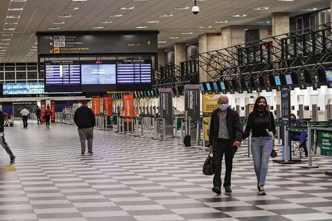 Aeroporto de Congonhas movimentação