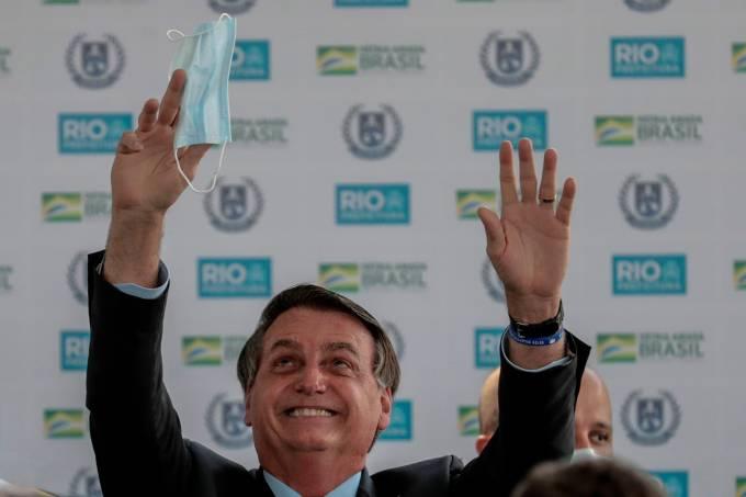 Presidente Bolsonaro participa de inauguración de escuela civico-militar