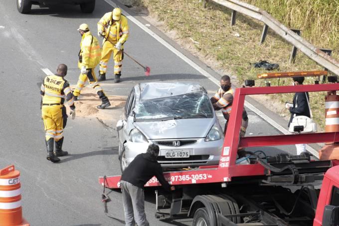 Acidente Marginal Pinheiros Ponte Jaguaré
