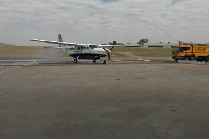 Aeronave Azul