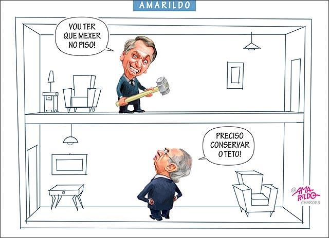 Charge do Amarildo