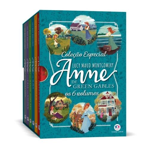 Coleção Anne de Green Gables - 8 Volumes