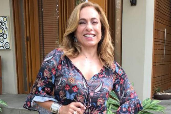 Apresentadora Cissa Guimarães
