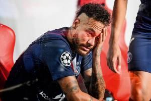 Neymar acabou derrotado na decisão em Lisboa -