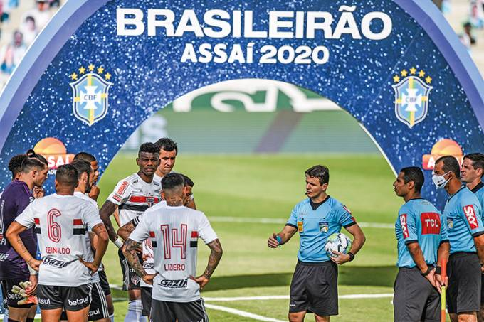 Goias v Sao Paulo Suspended The First Round of the 2020 Brasileirao Series After Players Tested Positive for Coronavirus