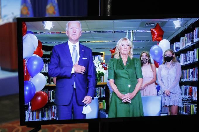 Joe Biden convenção democratas
