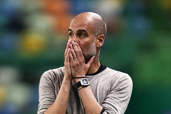 Pep Guardiola, técnico do Manchester City -