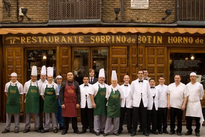 Restaurante Mais Antigo Recorde Guinness Espanha Madri